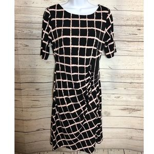 Midi Dress long sleeve size 8P connected Apparel